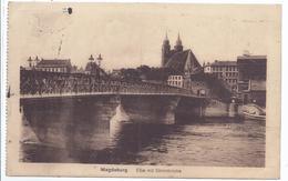 19069 -Magdeburg - Elbe Mit Strombrücke - Feldpost - Magdeburg