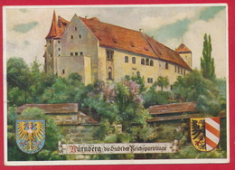 AK Nürnberg 'Die Stadt Der Reichsparteitage' ~ 1941 - Nürnberg