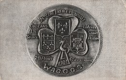 Carte Postale Des Années 80 - 24°conférence Mondiale Des Guyides Et Des Eclaireuses - France 1981 - Scoutisme