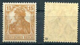 Deutsches Reich Michel-Nr. 100a Postfrisch - Geprüft - Deutschland