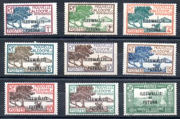 Wallis & Futuna Y&T 43**, 44**, 45* - 56* - Wallis Und Futuna