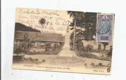CONAKRY SQUARE ET MONUMENT  DU DOCTEUR LE MOAL 1916 - Guinée Française