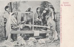 Salutari Din Romania Tisseuses 1903 (LOT AE 24) - Roumanie