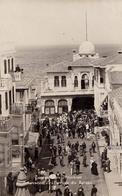 CONSTANTINOPLE - PRINKIPO : DEBARCADÈRE / ARRIVÉE DU BATEAU - COIFFEUR HOMMES FEMMES : C. STAVRIDES ~ 1910 - '15 (aa284) - Turquie