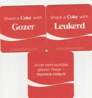 2 Coca Cola Viltjes - Sous-bocks