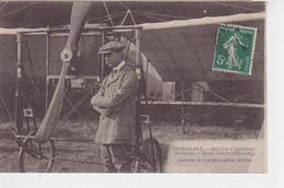 33.1104/  BORDEAUX - Meeting D'aviation MERIGNAC - Aubrun Et Son Monoplan Blériot - Merignac