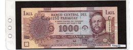 Banconota Paraguay 1000 Guaranies - Paraguay