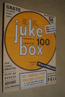 Juke-Box + Calendrier 1965,Spécial N° 100,complet Superbe état,Beatles,etc....vintage - Musique