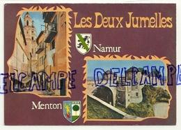 Les Deux Jumelles. Namur Et Menton. Combier Imprimeur Mâcon CIM - Cartes Postales