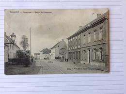 -postkaart, Booischot Dorpstraat, Gelopen 1905, Zegel 1 Cent Nr, 53 / 1893-1900 - Heist-op-den-Berg