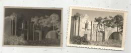 Photographie Et Son Négatif , 9 X 6 , NOUAILLE ,Vienne ,prieuré D'Availle ,portail - Luoghi