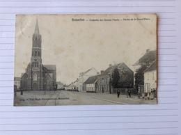 -postkaart, Booischot Gedeelte Grote Plaats, Gelopen 1905, Zegel 1 Cent Nr, 53 / 1893-1900 - Heist-op-den-Berg