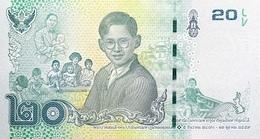 THAILAND P. 130 20 B 2017 UNC - Thaïlande