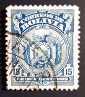 1925 Bolivie Yt 131 - Mi 138 - Sn 145 . Coat Of Arms (Waterlow & Sons Printing) . Oblitéré - Bolivie