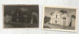 Photographie Et Son Négatif , 9 X 6 , NOUAILLE ,  Vienne , Prieuré D'Availles - Luoghi
