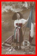 CPA MILITARIA. Guerre 1914-18.  L'Alsace A Déja Trop Vu L'autre, Nous Arborons Enfin Le Nôtre...I0192 - Patriottiche
