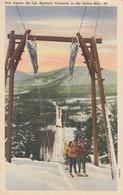 Pico Alpine Ski Lift , RUTLAND , Vermont , 30-40s - Winter Sports