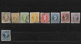 GRECE 77 à 85 Oblitérés Rond - 1886-1901 Petits Hermes