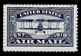 USA, 2018, 5281,Airmail, Blue, Single Forever, MNH, VF - Ongebruikt