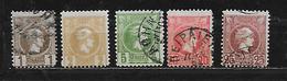 GRECE 91à93/95/97 Oblitérés Rond - 1886-1901 Petits Hermes