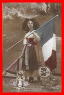 CPA MILITARIA. Guerre 1914-18.  On Ne Pourra Plus Nous Reprendre Le Drapeau Qui S'est Fait Attendre...I0193 - Patriottiche