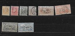 GRECE 101à106/108/109 Oblitérés Rond - 1886-1901 Petits Hermes