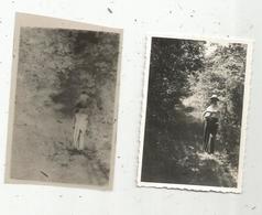 Photographie Et Son Négatif , 9 X 6 , NOUAILLE ,  Vienne , Bois De La Roche De Pron - Luoghi