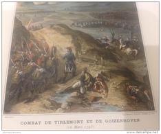 CAMPAGNE DE 1793 - ARMÉE DU NORD - COMBAT DE TIRLEMONT ET DE GOIZENHOVEN - Documents Historiques