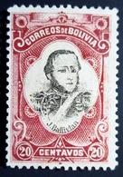 1897 Bolivie Yt 50 . Mi 49. Sn 51 .Jos'e Ballivian . Neuf  Charnière - Bolivie
