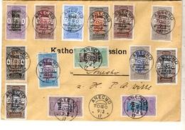 Togo Superbe Lettre Entière De 1917 Affranchissement Multiple. B/TB. A Saisir! - Togo (1914-1960)