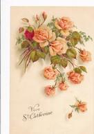 Thèmes - Fantaisies - Fleurs - Vive Ste-Catherine - Femmes