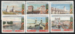 Russia 1953 Unif. 1652/57 */MH VF/F - 1923-1991 USSR
