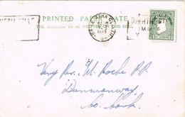30828. Tarjeta BAILE ATHA CLIATH (Dublin) Irlanda 1958 - Cartas