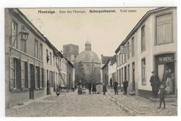 Montaigu.  Rue Des Champs.  Scherpenheuvel.  Veld Straat 1912 - Scherpenheuvel-Zichem