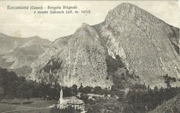 """2045 """" ROCCAVIONE(CUNEO)-BORGATA BRIGNOLE E MONTE SABENCH(ALT. M. 1670) """"  CARTOLINA POSTALE ORIG. NON SPEDITA - Italia"""
