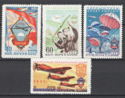 Russia 1951 Unif. 1576/79 */MH VF/F - 1923-1991 USSR
