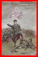 CPA MILITARIA. Guerre 1914-18.  Campagne 1914. La Prise D'un Drapeau...I0201 - Regiments
