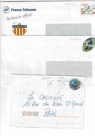 Enveloppes 2236 E1, 3139 E Et 3280 E3 Dont Une Circulée - Prêts-à-poster:  Autres (1995-...)
