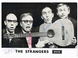 Antwerpen : The Strangers ( Met Handtekeningen) , 2 Scans - Oude Documenten