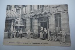 LILLE   L UNION  DE  LILLE  VUE  EXTERIEURE  DE L EPICERIE - Lille
