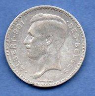 Belgique  -  20 Francs 1934 -  état  TTB - 1934-1945: Leopold III.