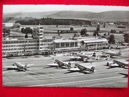 AEROPORTO AERO GAREINTERCONTINENTALE KLOTEN ZURICH ZURIGO - Aérodromes