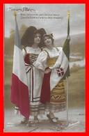 CPA MILITARIA. Guerre 1914-18.  Soeurs Alliées. Nous Verrons Les Jours Les Plus Beaux...I0203 - Patriottiche