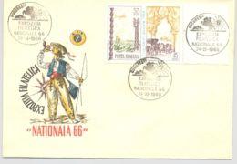 74572- NATIONAL PHILATELIC EXHIBITION, SPECIAL COVER, 1966, ROMANIA - 1948-.... Républiques