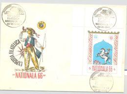74573- NATIONAL PHILATELIC EXHIBITION, SPECIAL COVER, 1966, ROMANIA - 1948-.... Républiques
