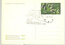 74616- GENERAL HENRYK SUCHARSKI, WW2, POLISH ARMY, MILITARIA, POSTCARD STATIONERY, 1971, POLAND - Militaria
