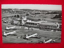 AEROPORTO AEROGARE INTERCONTINENTALE KLOTEN ZURICH ZURIGO - Aérodromes