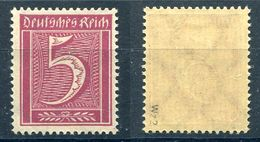Deutsches Reich Michel-Nr. 177 Postfrisch - Geprüft - Ungebraucht