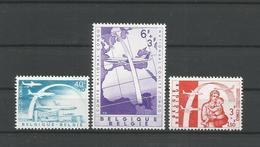 Belgium 1960 Congo Luchtbrug OCB 1147/1149 ** - Belgique