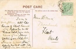 30832. Postal READING (England) 1906. Vista Iglesia SAN ANTON En BILBAO Y Puente - 1902-1951 (Rois)